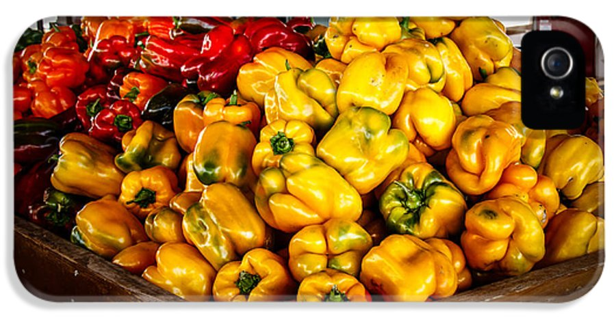 Peppers IPhone 5 Case featuring the photograph Bell Peppers by Robert Bales