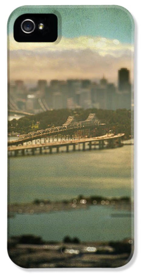 San Francisco IPhone 5 Case featuring the photograph Big City Dreams by Laurie Search