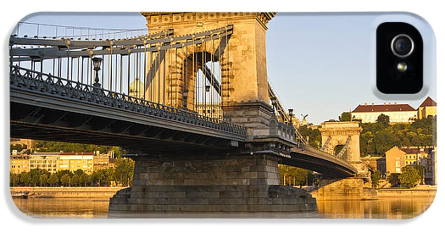 Architecture IPhone 5 Case featuring the photograph Bridge by David Buffington