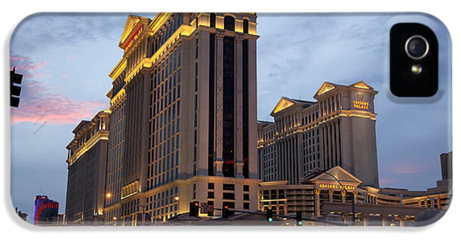America IPhone 5 Case featuring the photograph Caesars Palace by Jane Rix