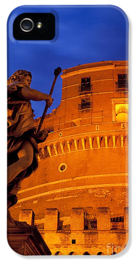 Angel IPhone 5 Case featuring the photograph Castel Sant Angelo by Brian Jannsen