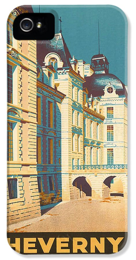 Ancient IPhone 5 Case featuring the digital art Chateau De Cheverny by Georgia Fowler