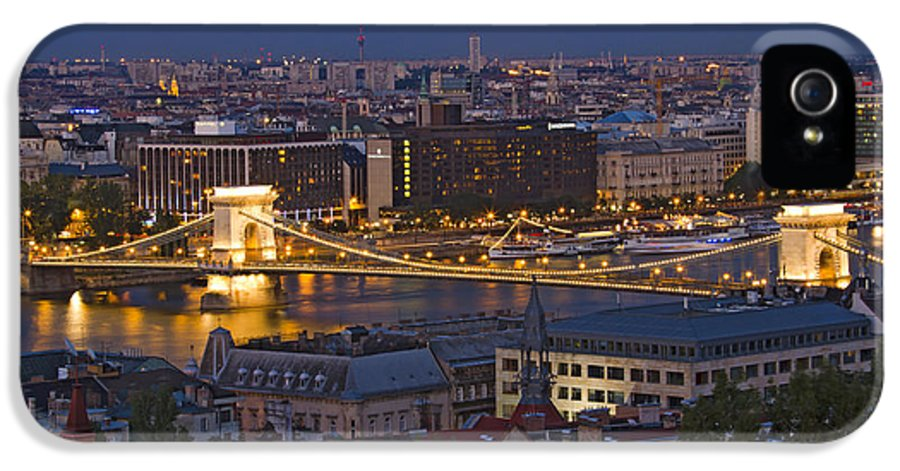 Architecture IPhone 5 Case featuring the photograph Cityscape by David Buffington