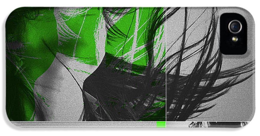 IPhone 5 Case featuring the digital art Climax by Naxart Studio