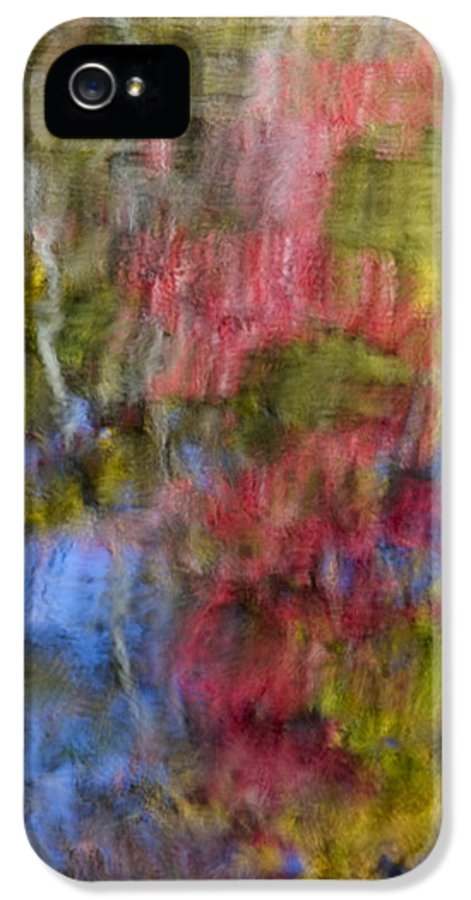 Abstract IPhone 5 Case featuring the photograph Color Palette by Susan Candelario