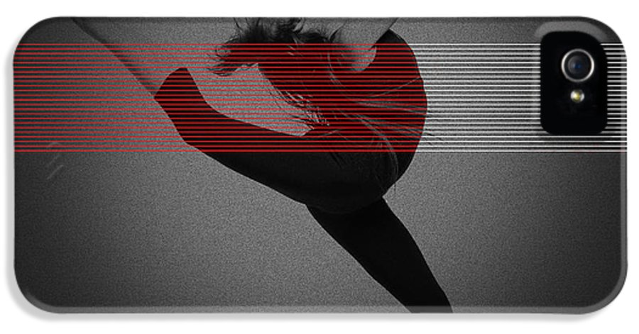 Dancing IPhone 5 Case featuring the photograph Dancer by Naxart Studio