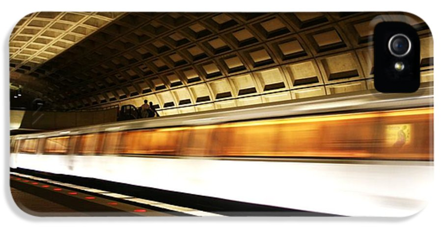 Washington IPhone 5 Case featuring the photograph Dc Metro by Heather Applegate