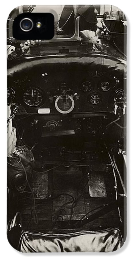 Dh-4 IPhone 5 Case featuring the photograph Dh-4 Aeroplane Radio by Miriam And Ira D. Wallach Division Of Art, Prints And Photographsnew York Public Library