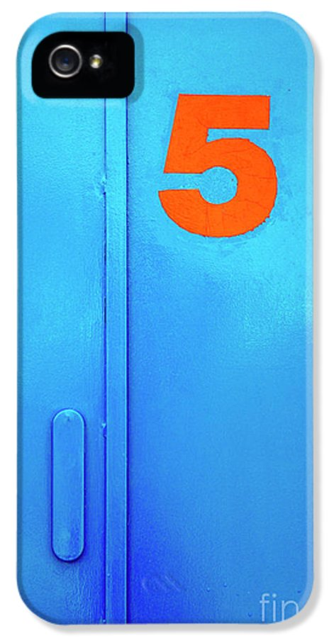 Access IPhone 5 Case featuring the photograph Door Five by Carlos Caetano