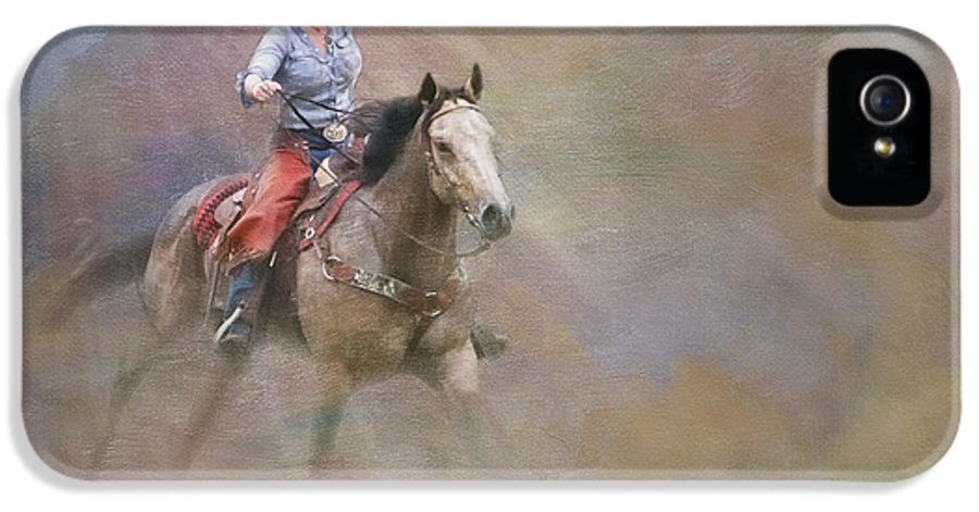 Animals IPhone 5 Case featuring the photograph Emerging by Susan Candelario