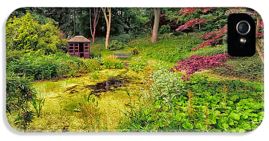 Countryside IPhone 5 Case featuring the photograph English Garden by Adrian Evans