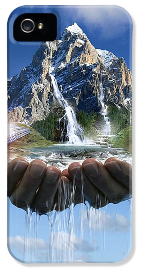 Biology IPhone 5 Case featuring the photograph Environmental Care, Conceptual Image by Smetek