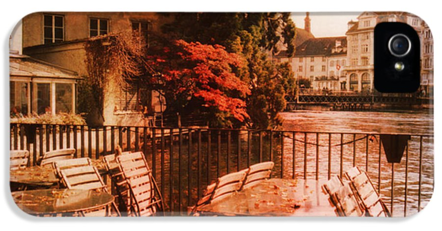 Lucerne IPhone 5 Case featuring the photograph Fall In Lucerne Switzerland by Susanne Van Hulst