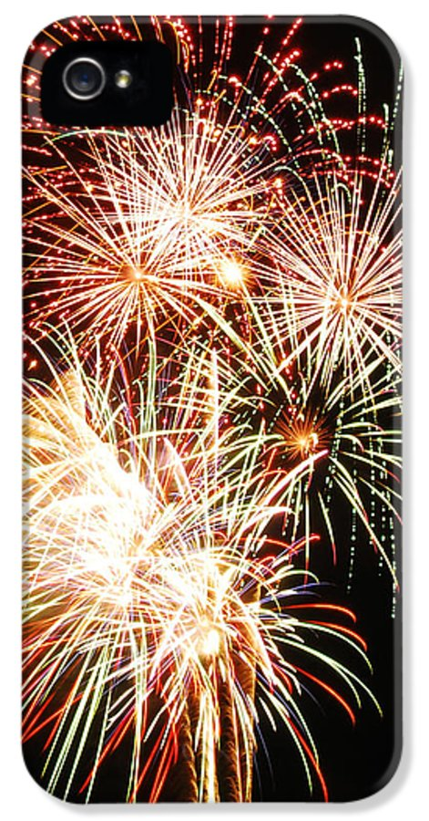 Fireworks IPhone 5 Case featuring the photograph Fireworks 1569 by Michael Peychich