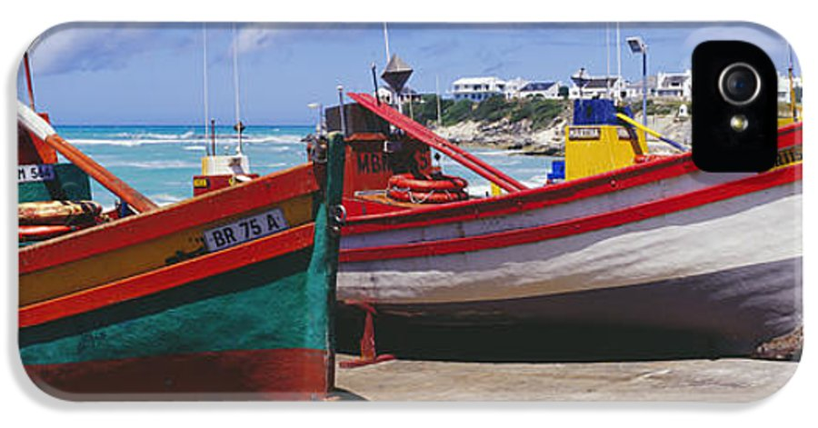 Arniston IPhone 5 Case featuring the photograph Fishing Boats At Arniston by Jeremy Woodhouse