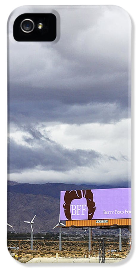 Windmills IPhone 5 Case featuring the photograph Forever Palm Springs by William Dey