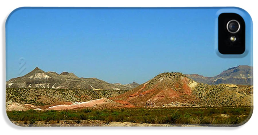 Big Bend Park IPhone 5 Case featuring the photograph From A Distance by Judy Hall-Folde