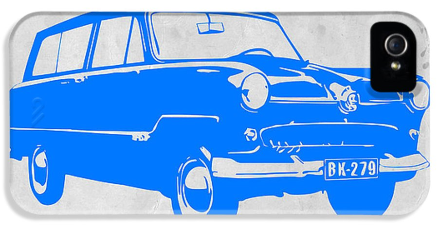 Funny Car IPhone 5 Case featuring the drawing Funny Car by Naxart Studio