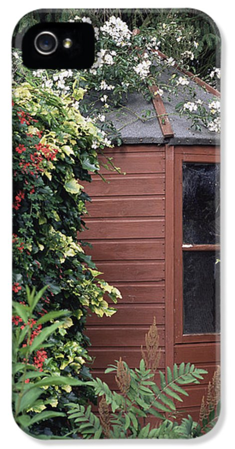 'mulligani' IPhone 5 Case featuring the photograph Garden Shed by Archie Young