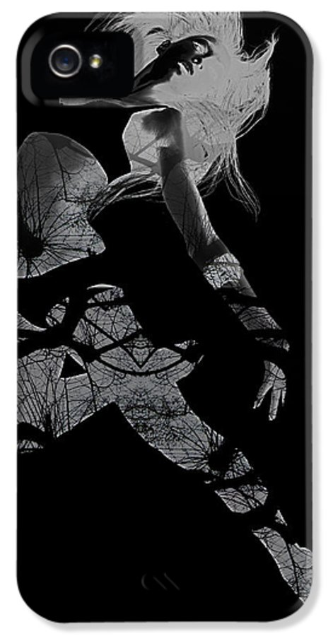 Dancing IPhone 5 Case featuring the photograph Gliding by Naxart Studio