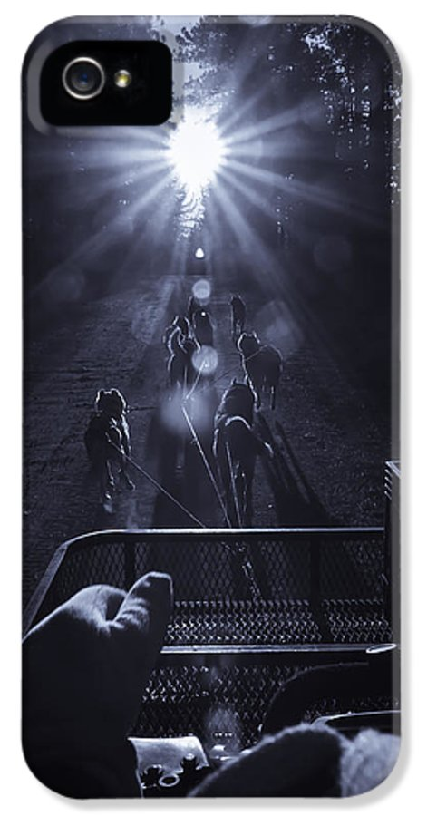Huskies IPhone 5 Case featuring the photograph Go Dogs Go by Sherri Meyer