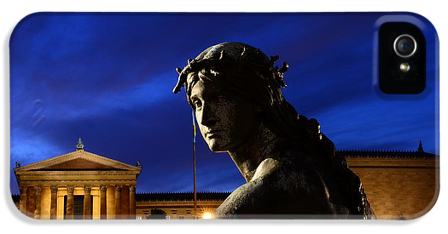 Guardian Angel IPhone 5 Case featuring the photograph Guardian Angel Of Art by Paul Ward