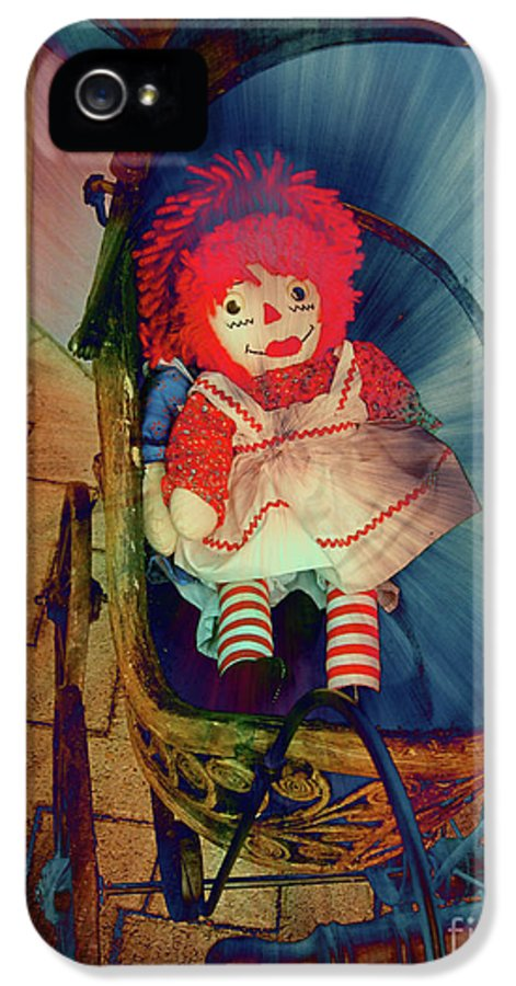 Retro IPhone 5 Case featuring the photograph Happy Dolly by Susanne Van Hulst