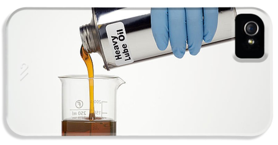 Heavy Lubricating Oil IPhone 5 Case featuring the photograph Heavy Lubricating Oil by Paul Rapson