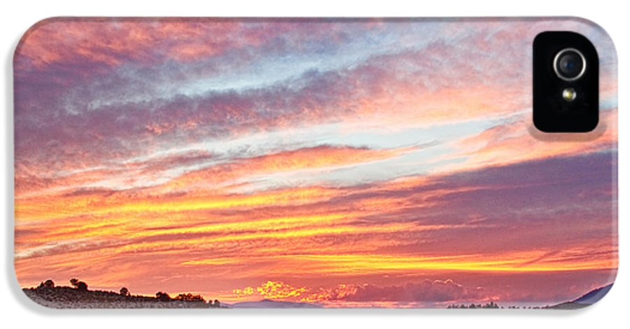 High Park Wildfire IPhone 5 Case featuring the photograph High Park Wildfire Sunset Sky by James BO Insogna