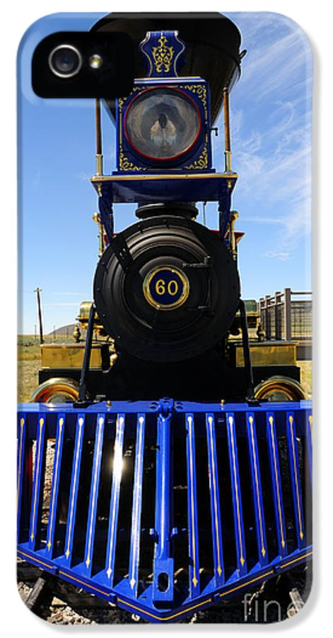 Historic IPhone 5 Case featuring the photograph Historic Jupiter Steam Locomotive by Gary Whitton