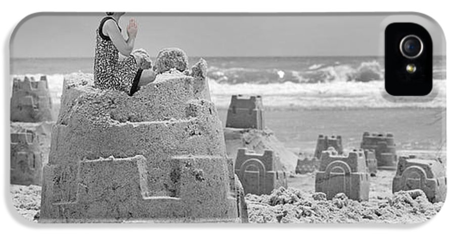 Sandcastle IPhone 5 Case featuring the photograph Hope by Betsy Knapp