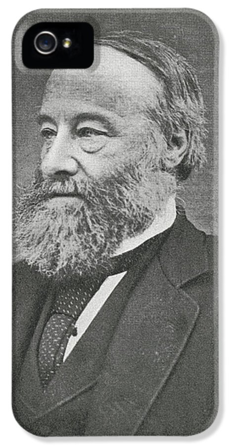 Joule IPhone 5 Case featuring the photograph James Prescott Joule, British Physicist by Science, Industry & Business Librarynew York Public Library