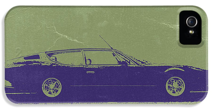 Lamborghini Espada IPhone 5 Case featuring the photograph Lamborghini Espada by Naxart Studio