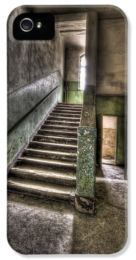 Room IPhone 5 / 5s Case featuring the photograph Lunatic Stairs by Nathan Wright