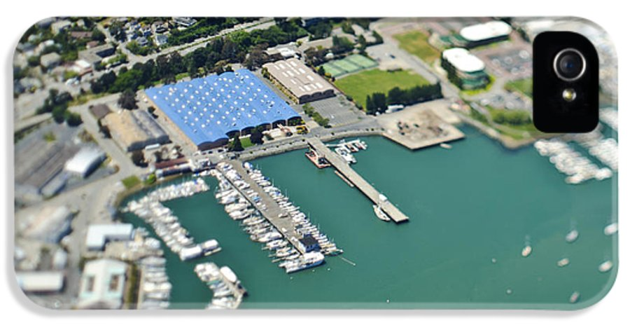 Aerial IPhone 5 Case featuring the photograph Marina And Coastal Community by Eddy Joaquim