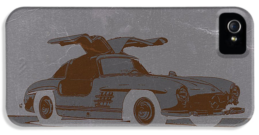 IPhone 5 Case featuring the photograph Mercedes Benz 300 by Naxart Studio