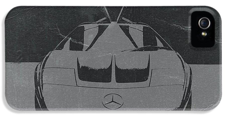 Mercedes Benz C Iii Concept IPhone 5 Case featuring the photograph Mercedes Benz C IIi Concept by Naxart Studio