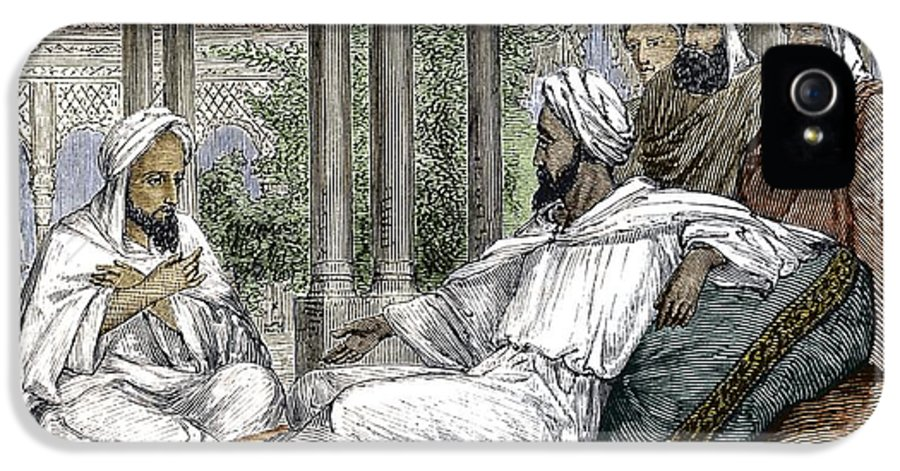 Ibn Masawaih IPhone 5 Case featuring the photograph Mesue The Elder, Persian Physician by Sheila Terry