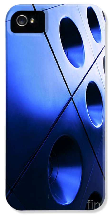 Circles IPhone 5 Case featuring the photograph Metallic Background by Jane Rix