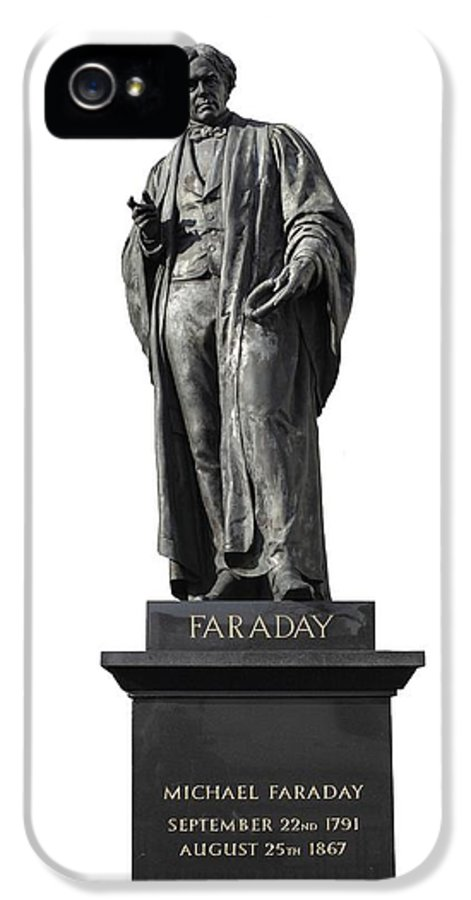 Michael Faraday IPhone 5 Case featuring the photograph Michael Faraday, British Physicist by Martin Bond