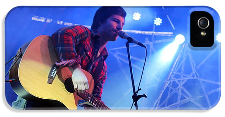 Michael IPhone 5 Case featuring the photograph Michael Hartenberger by Munir Alawi