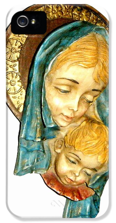 God IPhone 5 Case featuring the photograph Mother's Love by Bruce Iorio