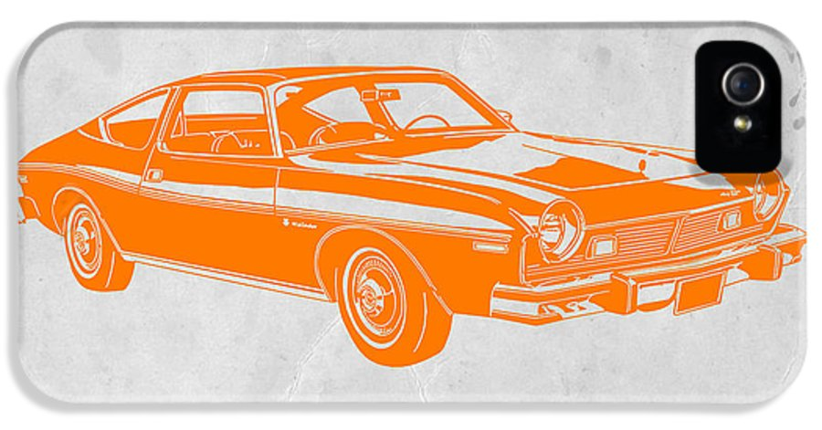 IPhone 5 Case featuring the photograph Muscle Car by Naxart Studio