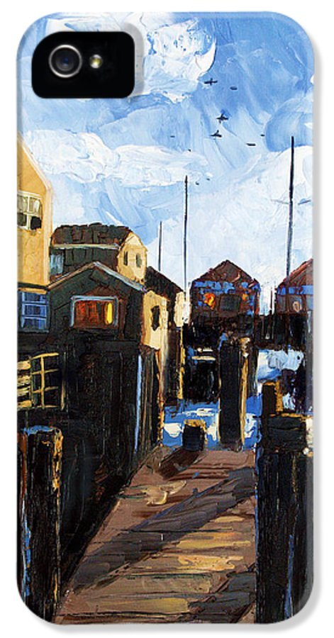 Nantucket Framed Prints IPhone 5 Case featuring the painting Nantucket by Anthony Falbo