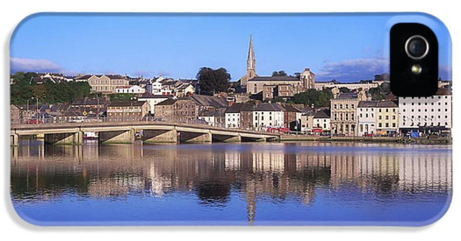 Blue Sky IPhone 5 Case featuring the photograph New Ross, Co Wexford, Ireland by The Irish Image Collection