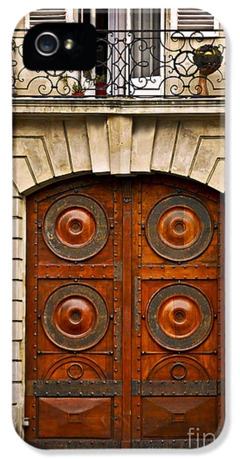 Door IPhone 5 Case featuring the photograph Old Doors by Elena Elisseeva