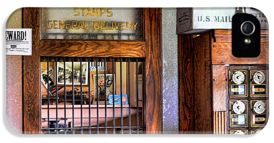 Paul Ward IPhone 5 Case featuring the photograph Old Fashion Post Office by Paul Ward