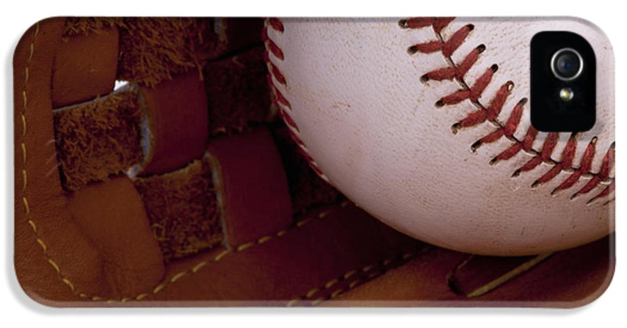 Baseball IPhone 5 Case featuring the photograph Old Friends 3 by Stephen Anderson