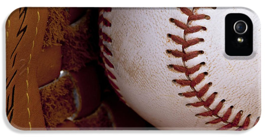 Baseball IPhone 5 Case featuring the photograph Old Friends 4 by Stephen Anderson
