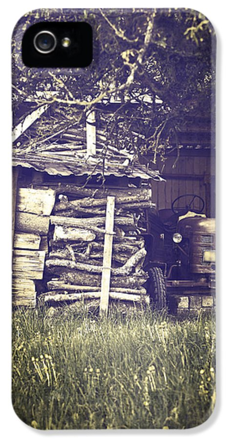 Tree IPhone 5 Case featuring the photograph Old Shed by Joana Kruse